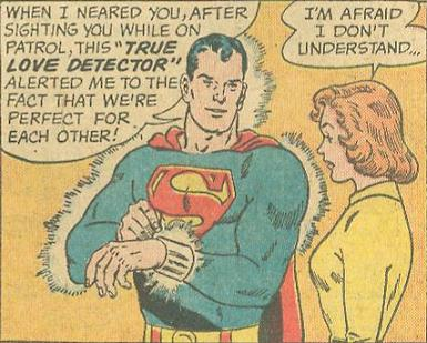 Superman's love detector