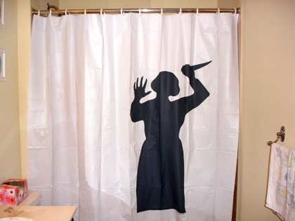 Man Behind Shower Curtain Stock Photo 86485864 | Thinkstock UK