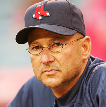 Terry Francona, former manager of the Boston Red Sox, as shot for Sports Illustrated