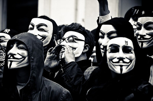 guy fawkes crowd