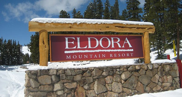 Eldora Mountain Resort Sign
